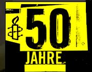 50 Jahre Amnesty Logo