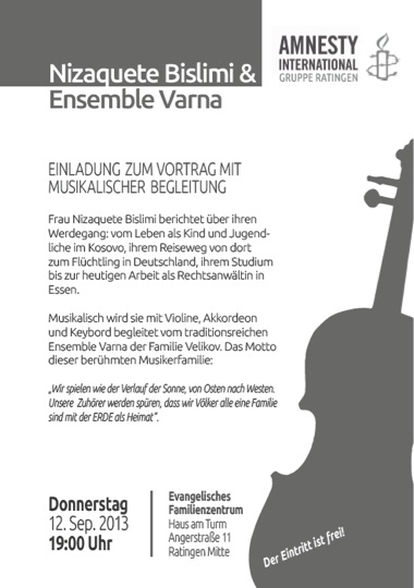 Nizaquete Bislimi & Ensemble Varna