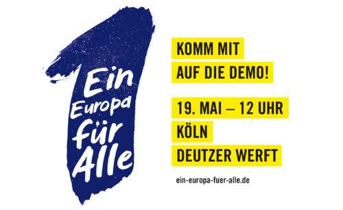 Banner: Ein Europa für Alle