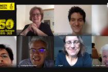 Screenshot unseres Online-Meetings am 18.05.2020
