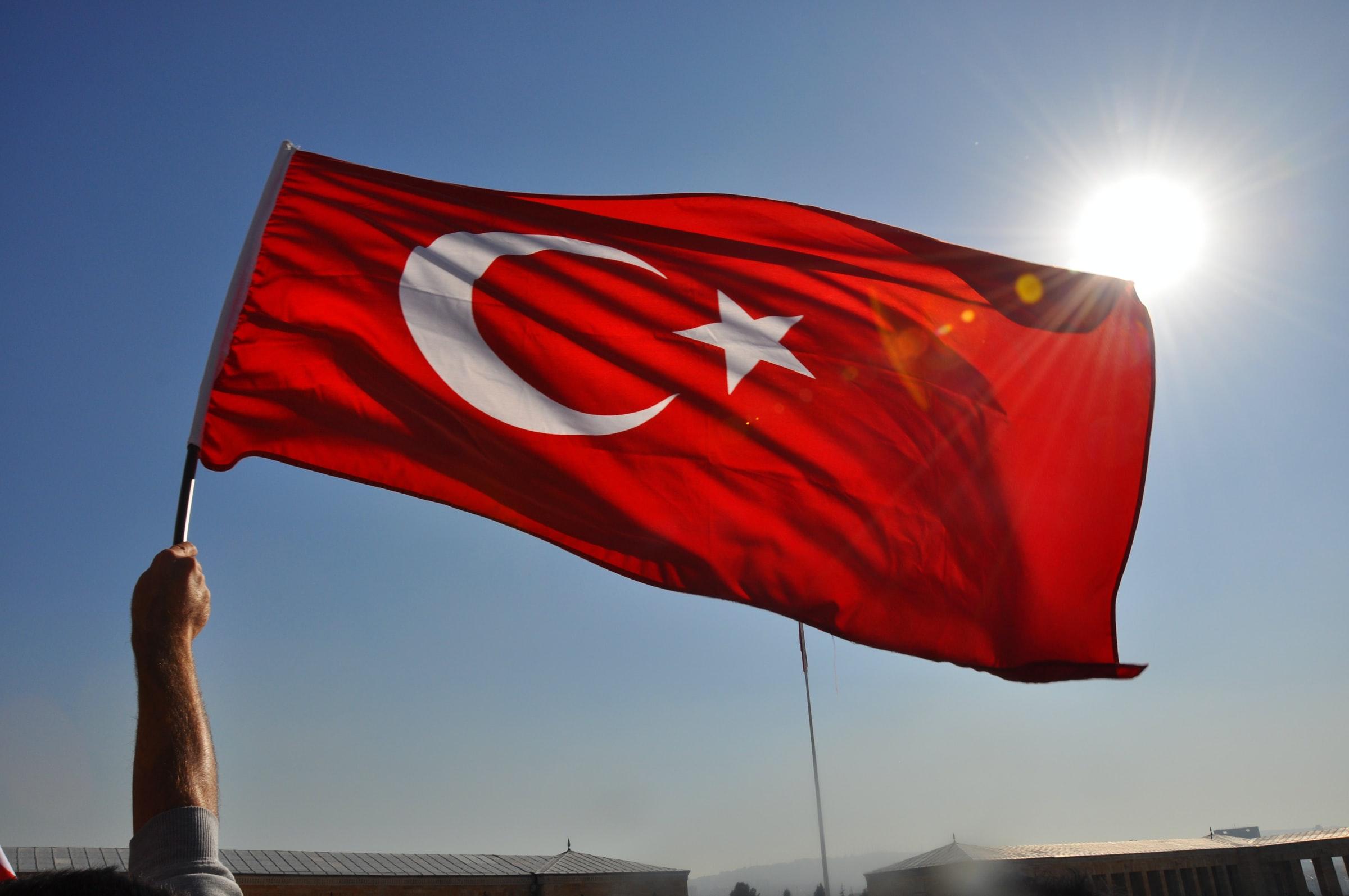 Fahne der Türkei